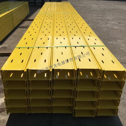 喷塑 托盘式 大跨距 电缆桥架